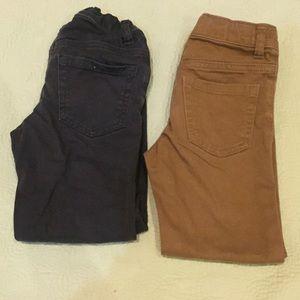 Old Navy-2 pair karate dress pants
